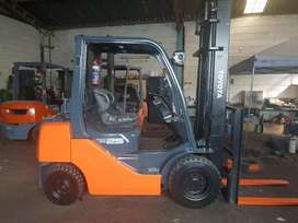 Toyota forklift 2.5ton duel