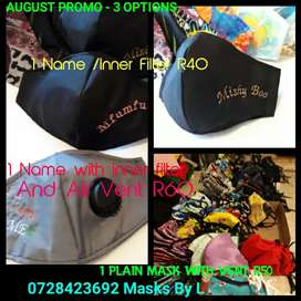 Masks Promotion Must haves