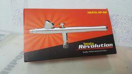 Аэрограф IWATA HP-BR для моделирования, макияжа, кондитерки, маникюра