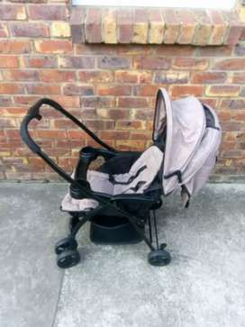 Stroller and carry cot