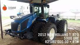 2012 NEW HOLLAND T. 670