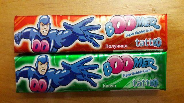 Жевательная резинка (жвачка) Boomer