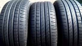 245/50/18 perilli Run flat tyres for sell with more than 85% threads