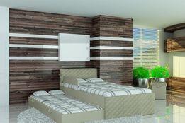 Łóżko piętrowe dla dzieci,łóżko dziecięce,tapicerowane takniną Raty