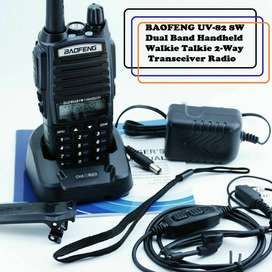 Walkie Talkie VHF UHF Dual Band Two Way Radios Transceivers. Brand New