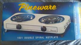 Pineware Double Spiral Hotplate (Brand New)