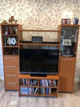 TV and display cabinet