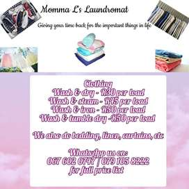 YOUR LAUNDRY IS OUR BUSINESS