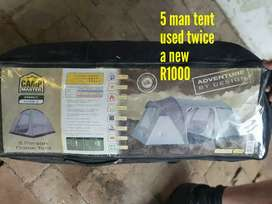 Camp master 5 sleeper tent