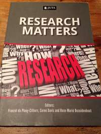 Image of Research Matters Textbook for Sale