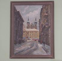 """Картина 1988 року, """"вул. Руська"""""""