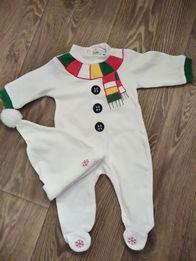 Новогодний костюм / человечек с шапочкой на малыша
