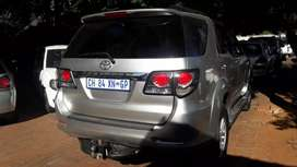 Toyota Fortuner 2.5D4D 4x2 SUV Manual For Sale