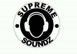 Supreme Soundz deejay equipment for hire.