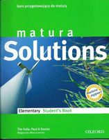 Matura Solutions - Elementry Student's Book