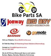 Image of Scooter and Chinese bike spares, BIgboy Jonway Conti Bashan and Motomi