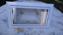 Поворотный светильник встраиваемый галогенный алюминиевый белый.