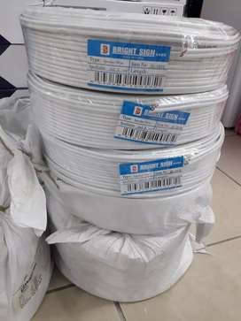 SABS approved 2.5mm,100meters twin and earth electric Cables for  R750