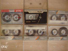кассеты аудио JVC и другие