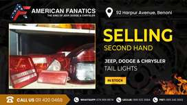 Second Hand Jeep, Dodge & Chrysler Taillights for sale!
