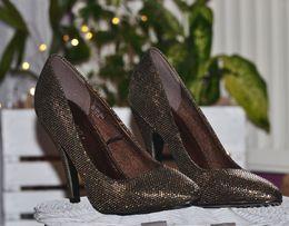 Buty złote, złoto, srebro, brąz Centro NOWE