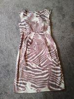 Sukienka r. S - ciążowa elegancka, na wesele, komunię