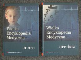 Wielka encyklopedia medyczna dostępnych 8 części