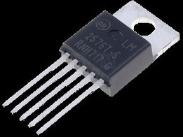Микросхема LM2576T-ADJ TO220-5 (45Vmax; 3A; 52kHz; 1.23-37V+-4%)
