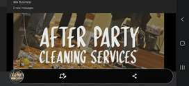 After Party Cleaning Services