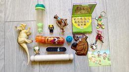 Zestaw Zabawek Dla Dzieci Scooby Do Gra Kreda Dinozaur Puzzle