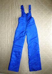 фирменные теплые лыжные штаны комбинезон Германия р.152