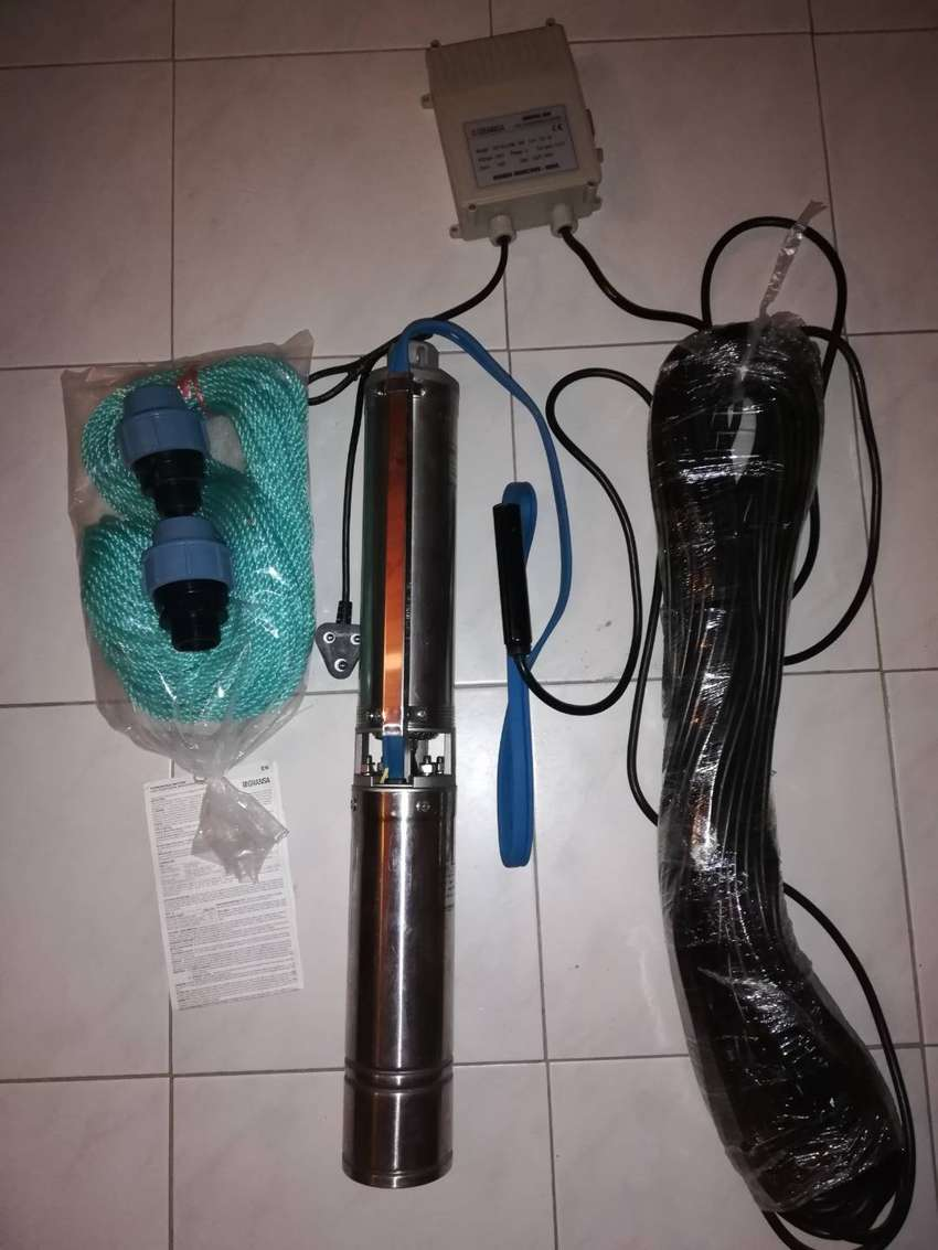 """2 x 4"""" STAINLESS STEEL BOREHOLE PUMPS 0"""