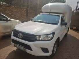 QUALITY PRE-OWNED 2017 TOYOTA HILUX SINGLE CAB WITH CANOPY AVAILABLE