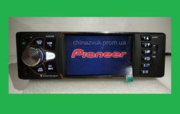 Автомагнитола Pioneer 4036 CRB, 4 дюйма экран, блютуз.