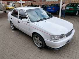 Toyota corolla 130gle with mags low kms