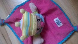 maskotka kocyk przytulanka sensoryczne pajacyk simba baby szmatka