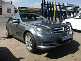 2012 Mercedes-Benz C200 blue efficiency Automatic with a sunroof
