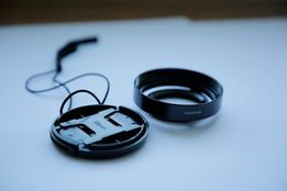 бленда Fujifilm LH-X10+Marumi 40mm+передняя крышка 58мм