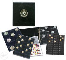 Альбом для монет и банкнот, годовых наборов монет SAFE Premium (ФРГ)