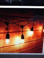 Водонепроникаемая гирлянда в стиле Едисона-кафе,свадьбы,банкеты