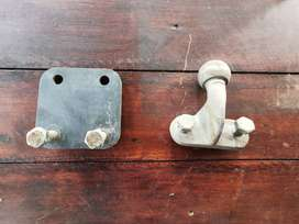 TOW HITCH & DROP PLATE