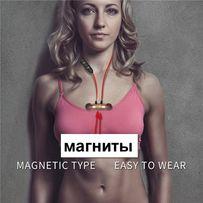 Наушники беспроводные, БЛЮТУЗ (гарнитура), музыка BS11, магниты