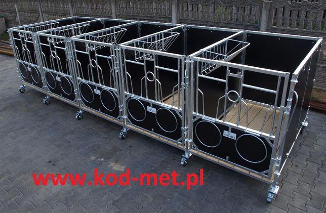 kojec dla cieląt, kojce, boksy, klatki KBP 1/1,5 wygrodzenia dla bydła Miedzna - image 8