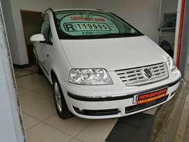 2005 VW SHARAN 1.8 T 7 SEATER WITH 164021KMS