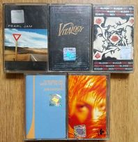 Kasety magnetofonowe METALLICA Led Zeppelin Nalepa Dzem TSA Pearl Jam