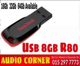 Usb 8g Flash Drive Brand new