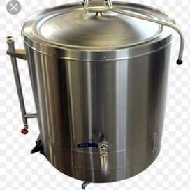 Tanks,Oil Jacketed Pots,Tilting Pans,Three plate Soli Stoves for sale