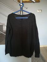 Czarny sweter Xl