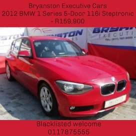 2012 BMW 1 Series 5-Door 116i Steptronic - R159,900