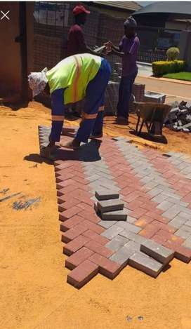 Paving bricks manufacturing, supply and Install